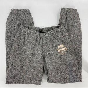 Roots vintage sweatpant joggers grey